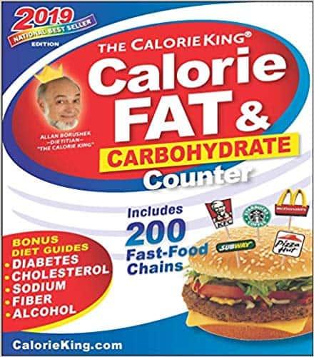 CalorieKing hardcover book (2019 edition)
