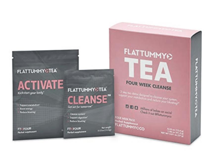flat tummy tea- Flat Tummy Tea 4-Week Detox Herbal Tea