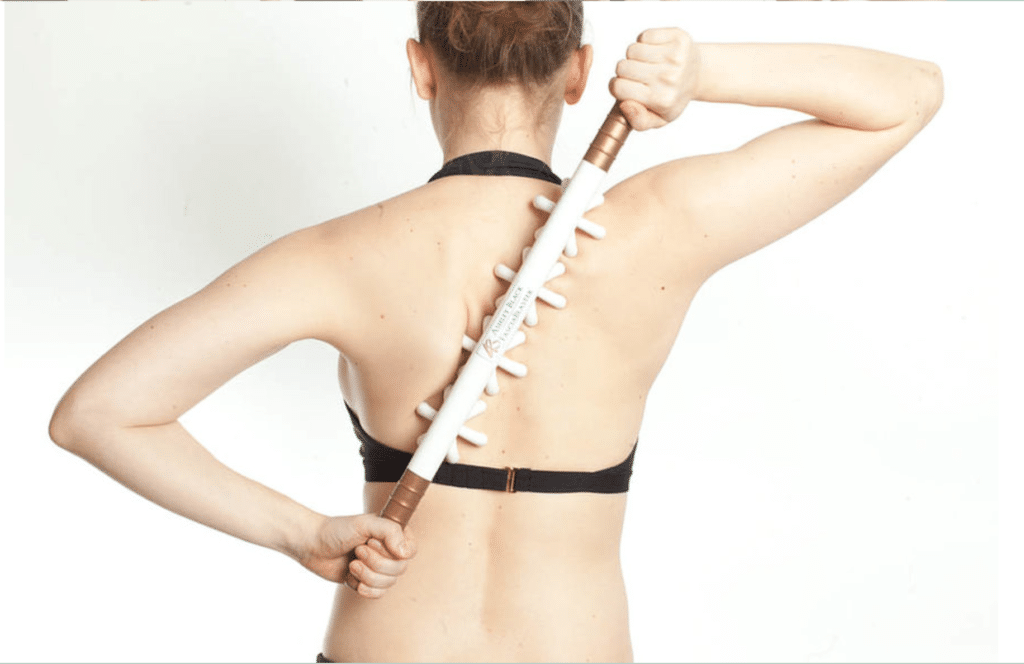 woman back with fasciablaster