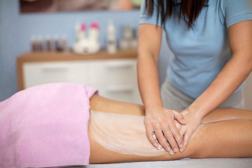 how to get rid of cellulite using massage