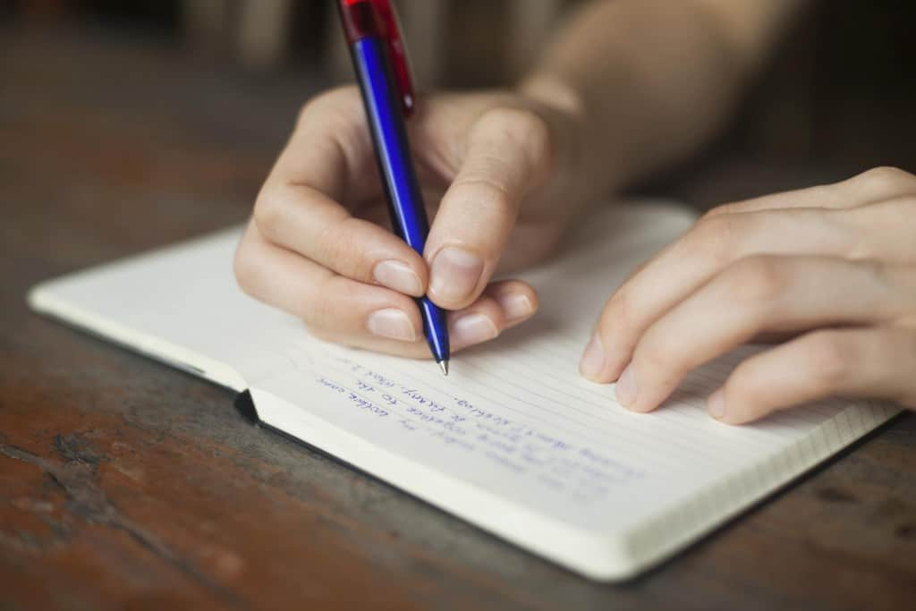 wring in a Journal