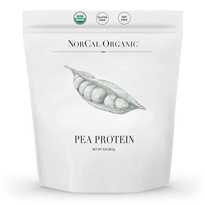 Source Organic - Premium Pea Protein Isolate - 100% Vegan and Organic - UNFLAVORED - Bulk 2lbs