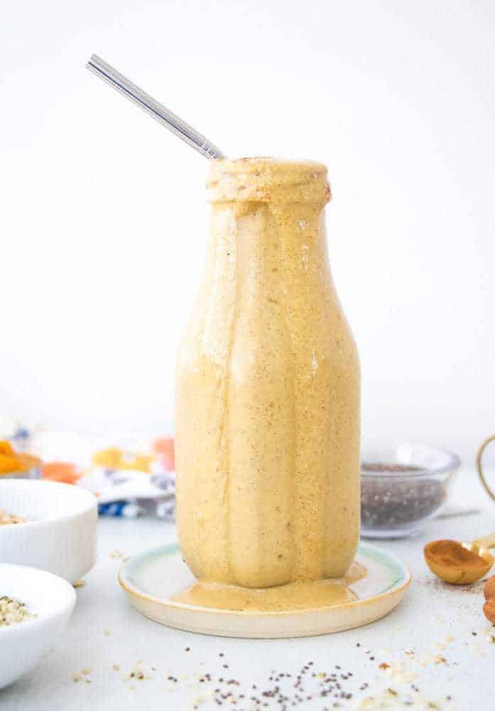 Vegan Pumpkin Pie Protein Shake