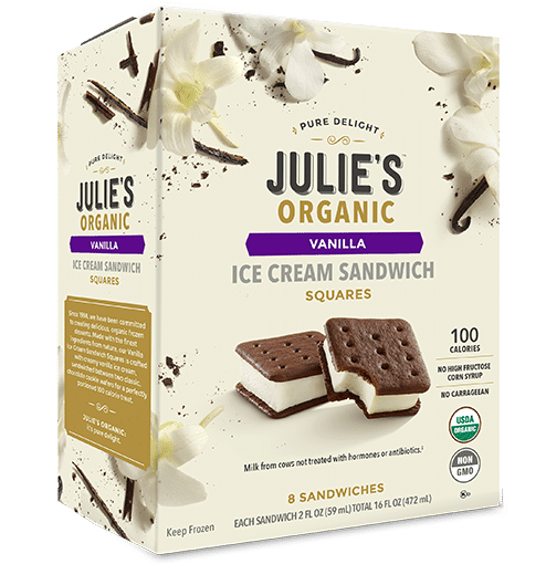 Julia's Organic Ice Cream