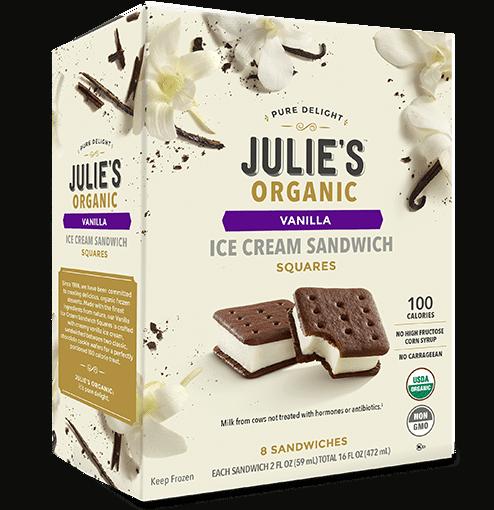 Julia's Organic Ice Cream