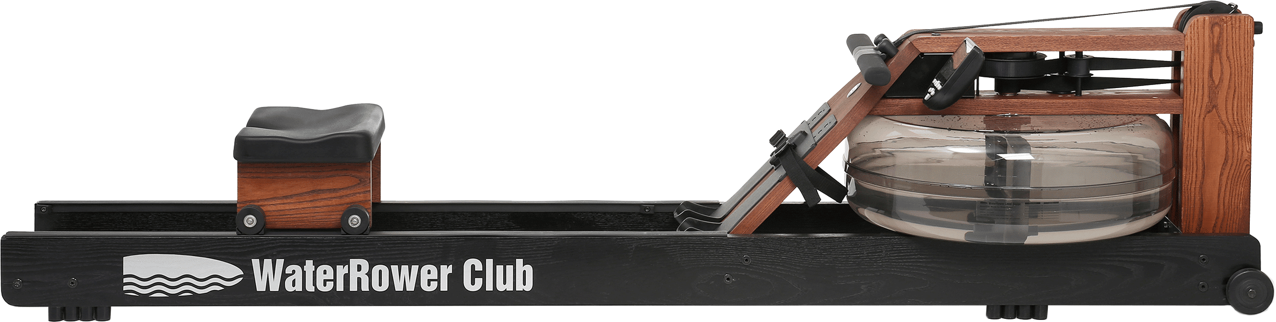 Water Rower Club Rowing Machine in Ash Wood with S4 Monitor