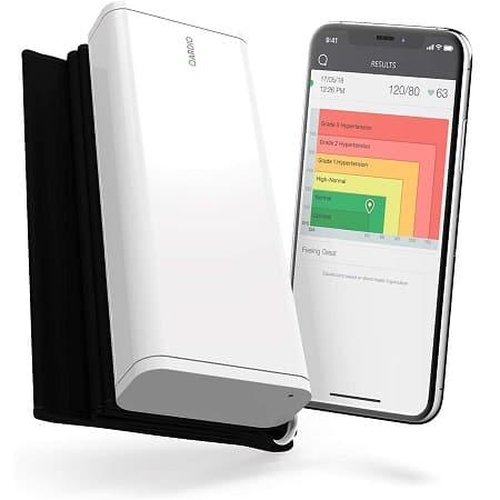 QardioArm Wireless best Blood Pressure Monitor