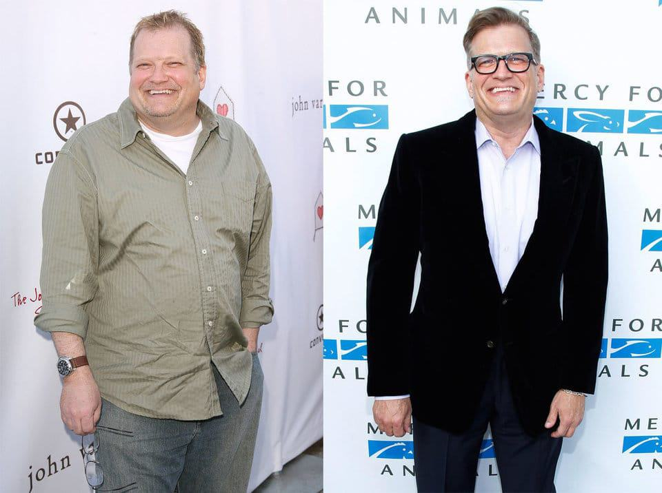 Drew Carey is one of the celebrities that have lost weight, losing nearly 100 pounds