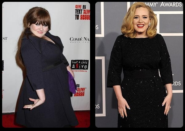 Adele and her weight loss