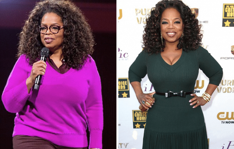 Oprah Winfrey is everyone's weight loss inspiration when it comes to persistence.