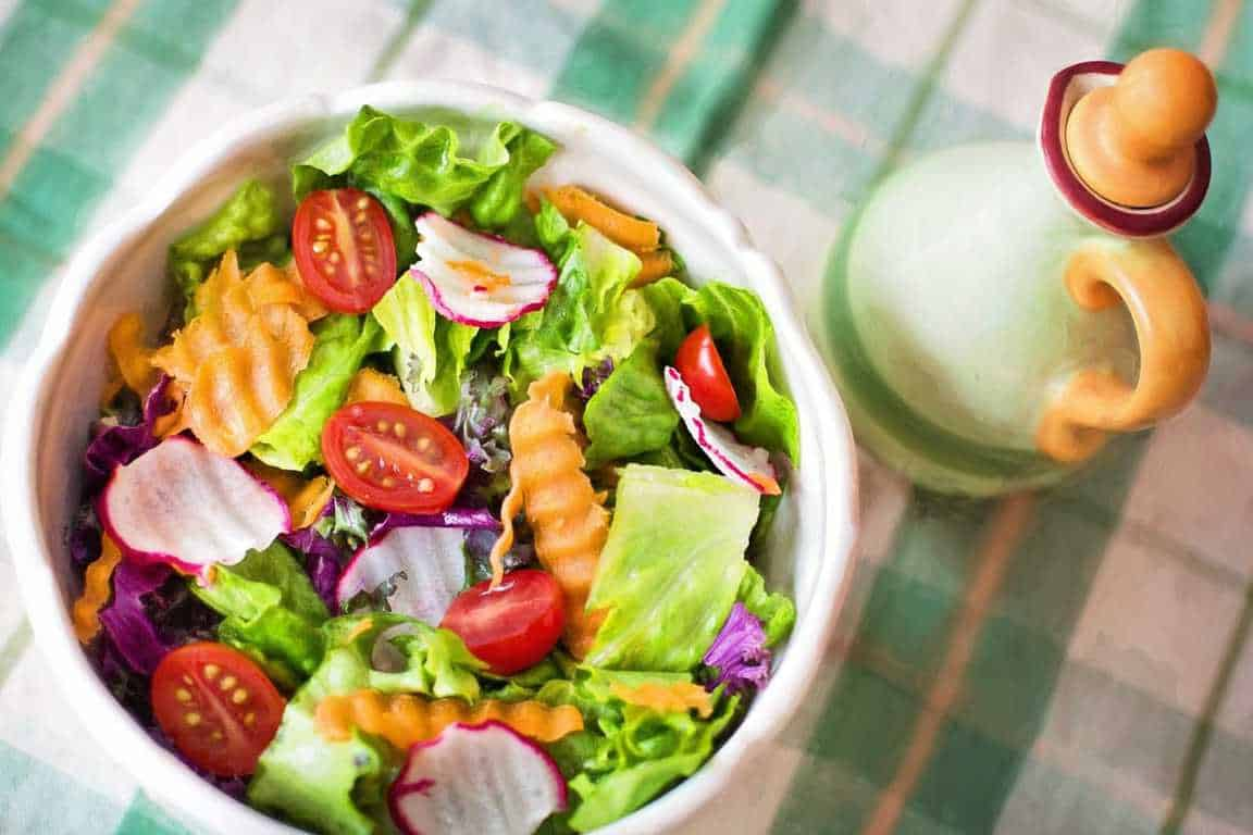 bowl of salad for lunch ideas