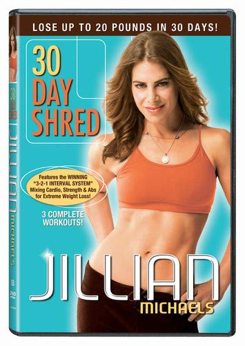 Jillian Michaels - 30 Day Shred DVD Lose Up to 20 Pounds in 30 Days