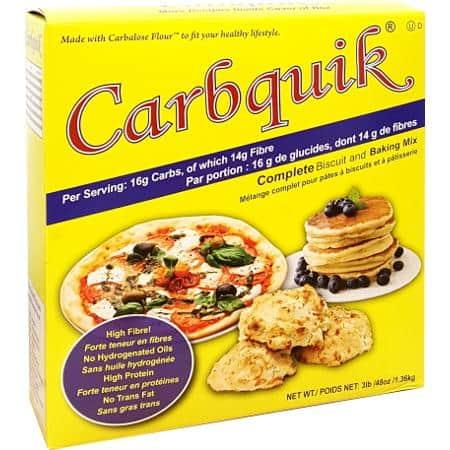 Carbquik baking mix box