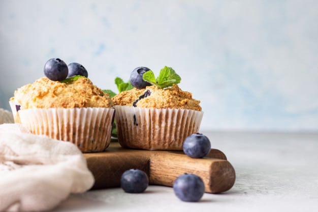 Carbquik Blueberry Muffins